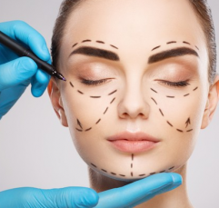 Cirurgias plásticas no rosto